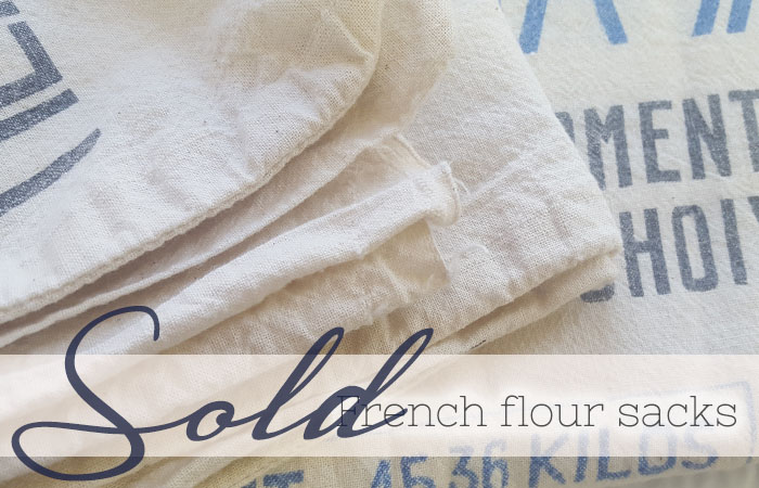 french flour sacks