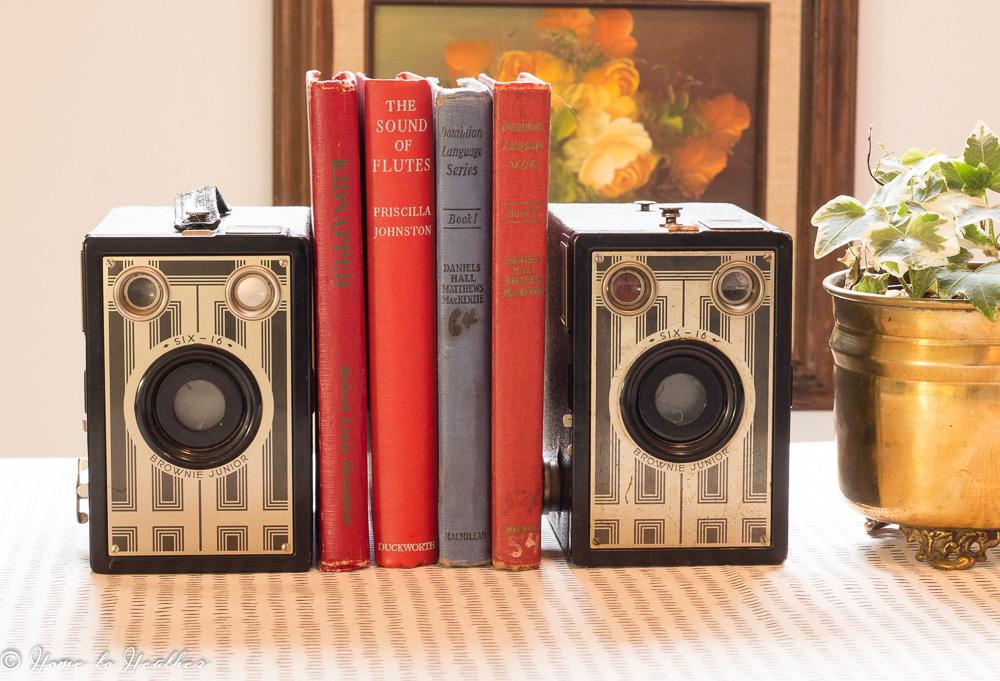 Six 16 Brownie Junior Cameras 2